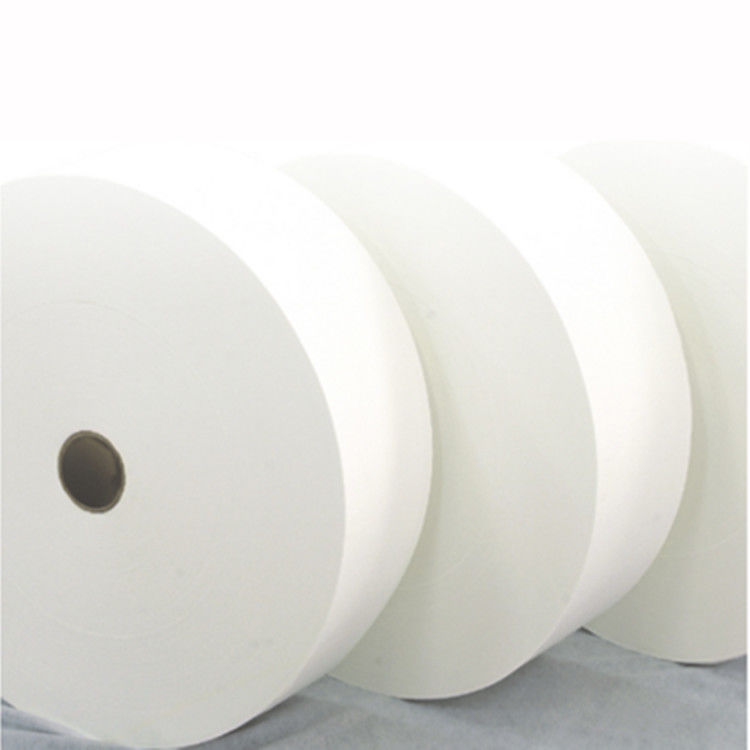 Plain Customized Spunlace Nonwoven Wet Wipes Fabric